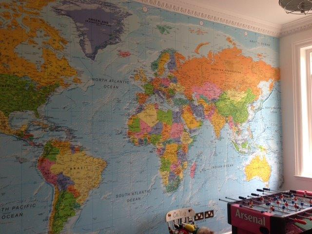 47+] Custom World Map Wallpaper on WallpaperSafari