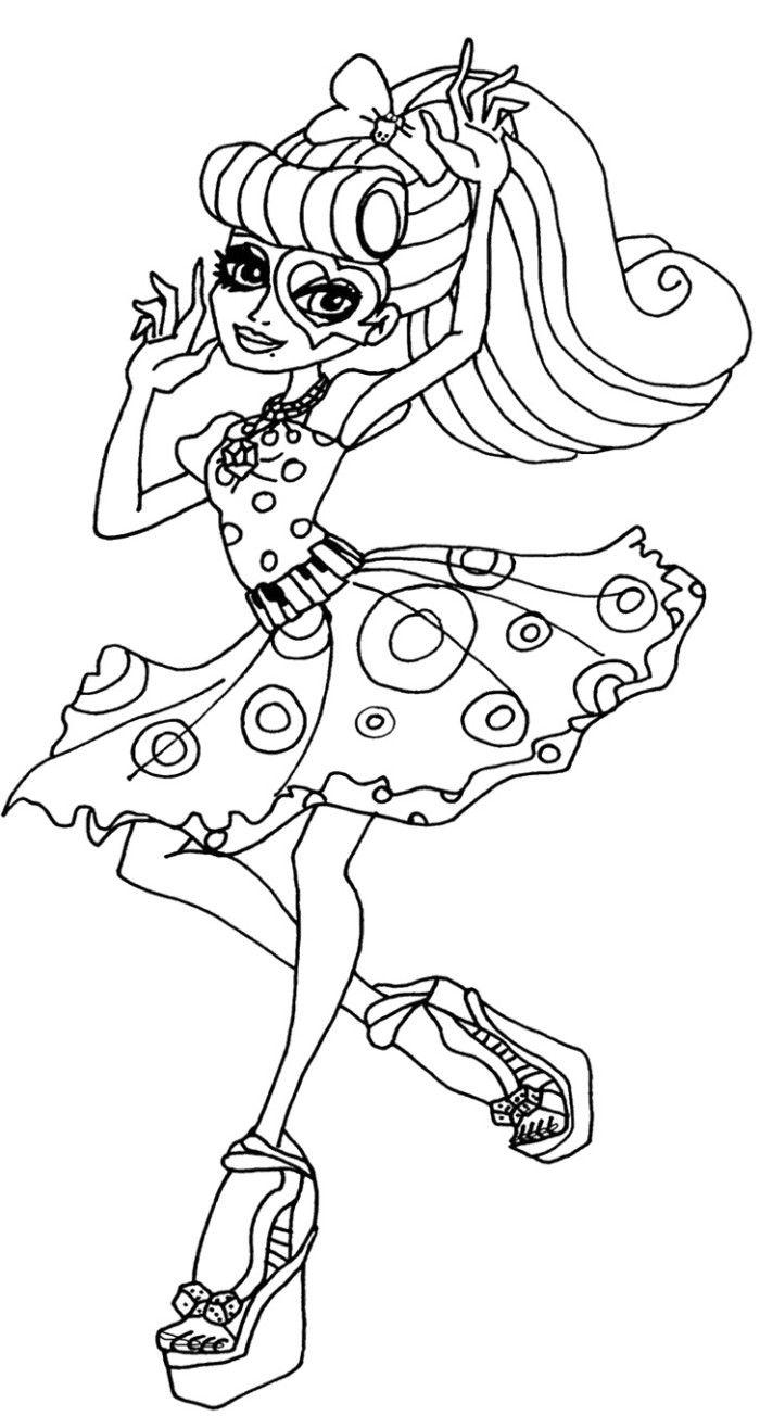 Ziemlich Malvorlagen Monster High Boo York Fotos - Druckbare ...