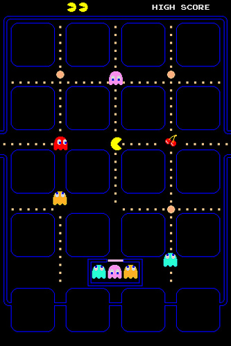 Pacman Wallpaper Iphone 7