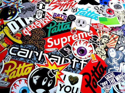 stickers vans supreme vans stickers supreme stickers 500x375
