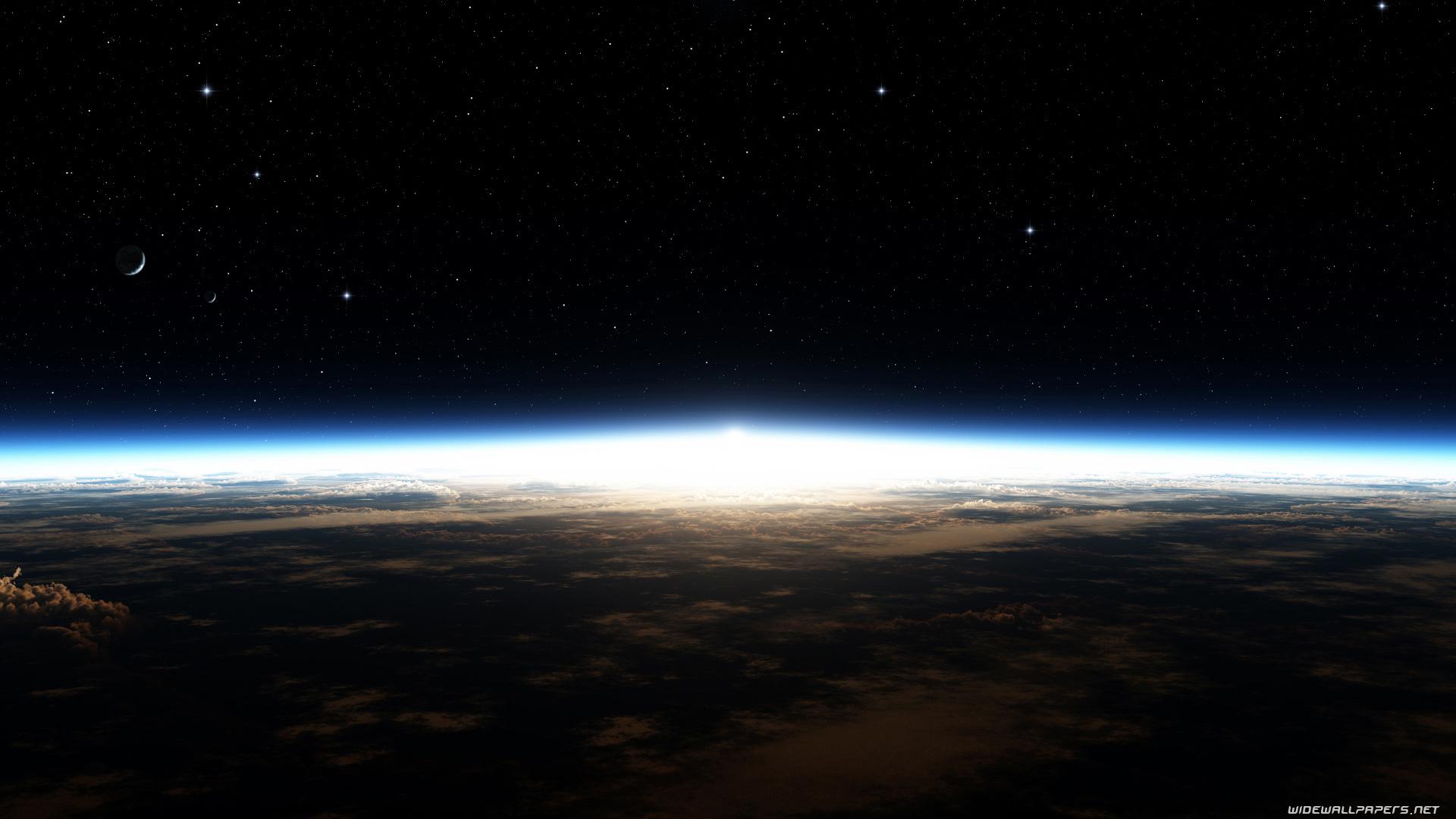 Widescreen Space Wallpaper - WallpaperSafari
