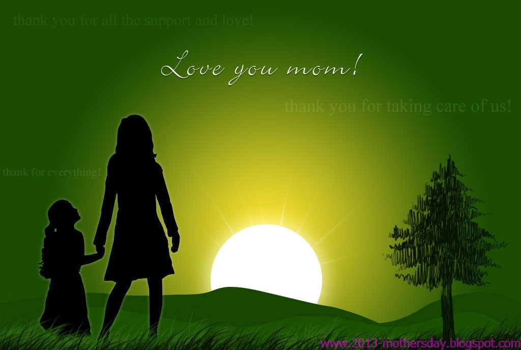 Mother's Day Screensavers And Wallpaper
