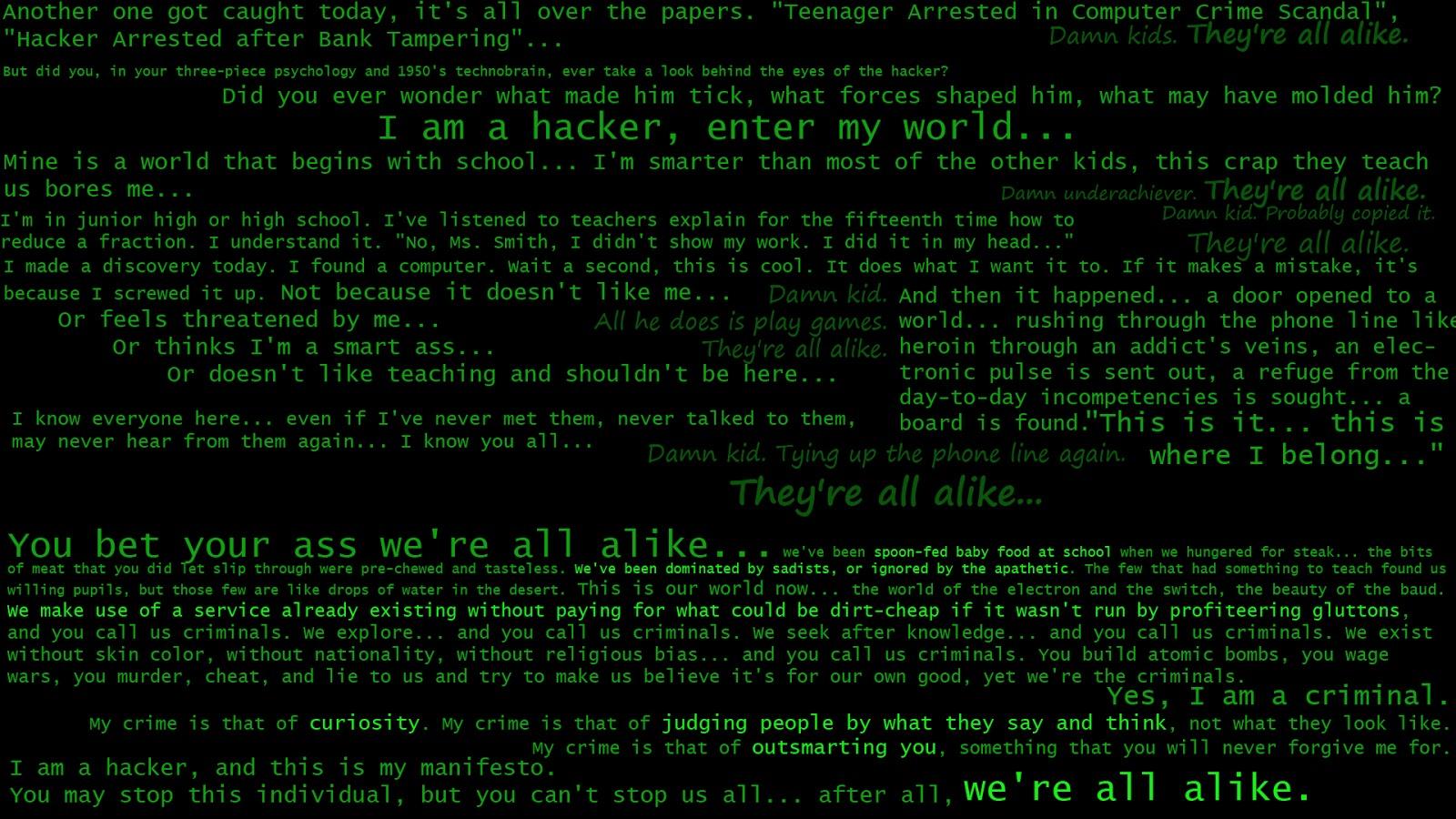 Best HD Hackers Wallpapers Part VI   Wanna Be hacker 1600x900