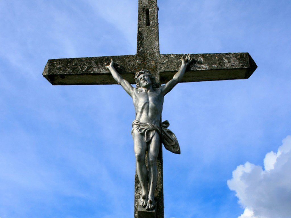 Christian Wallpaper Cross of Jesus   Christian Wallpapers and 1024x768