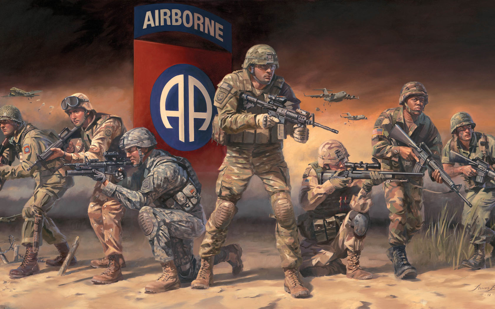 82nd Airborne Wallpaper - WallpaperSafari