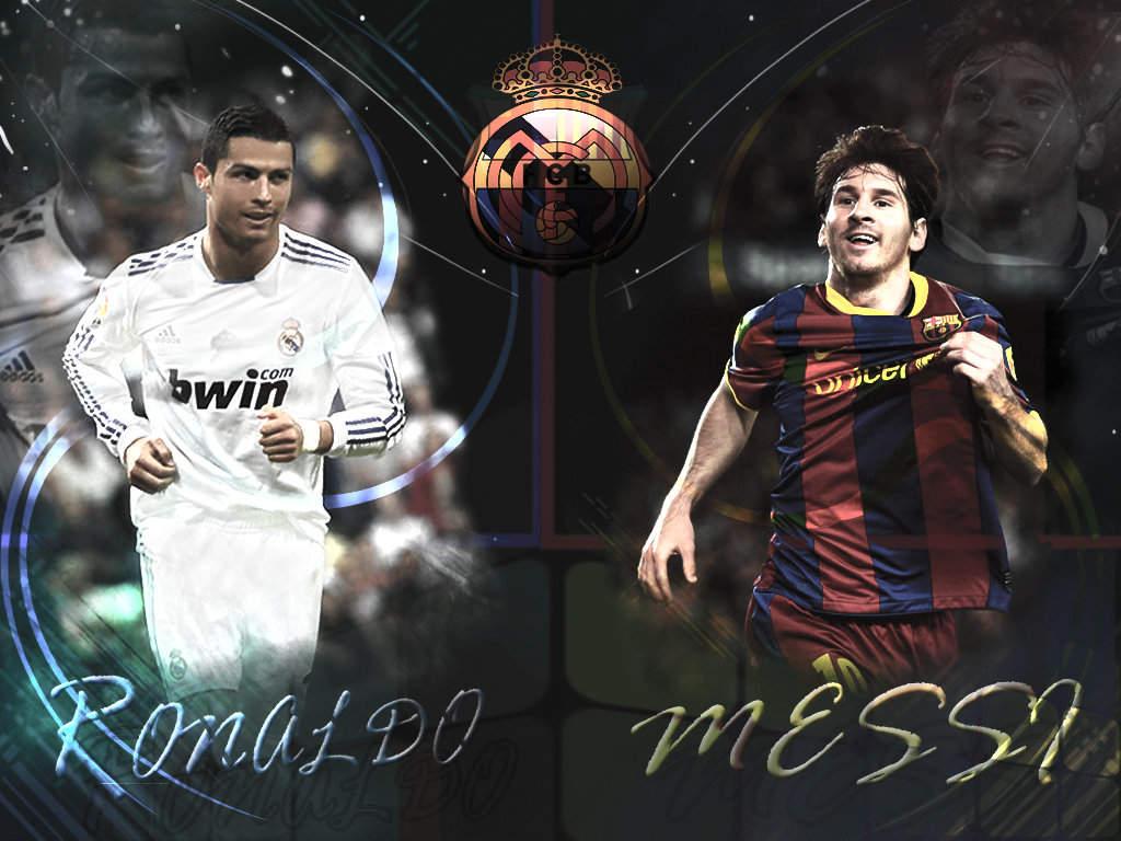1024x768px Ronaldo And Messi Wallpaper Wallpapersafari