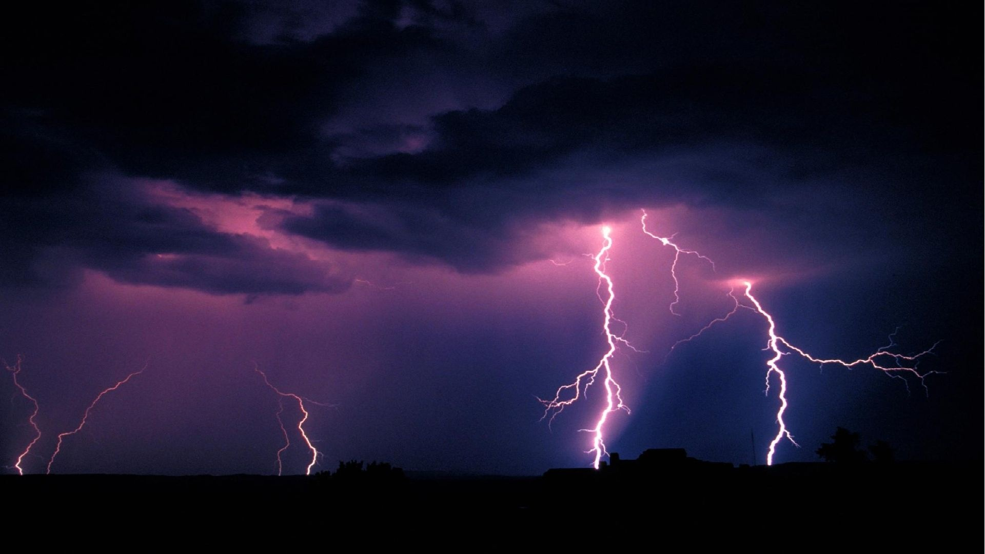 Spring Thunderstorms Wallpaper Thunderstorms blizzards and 1920x1080