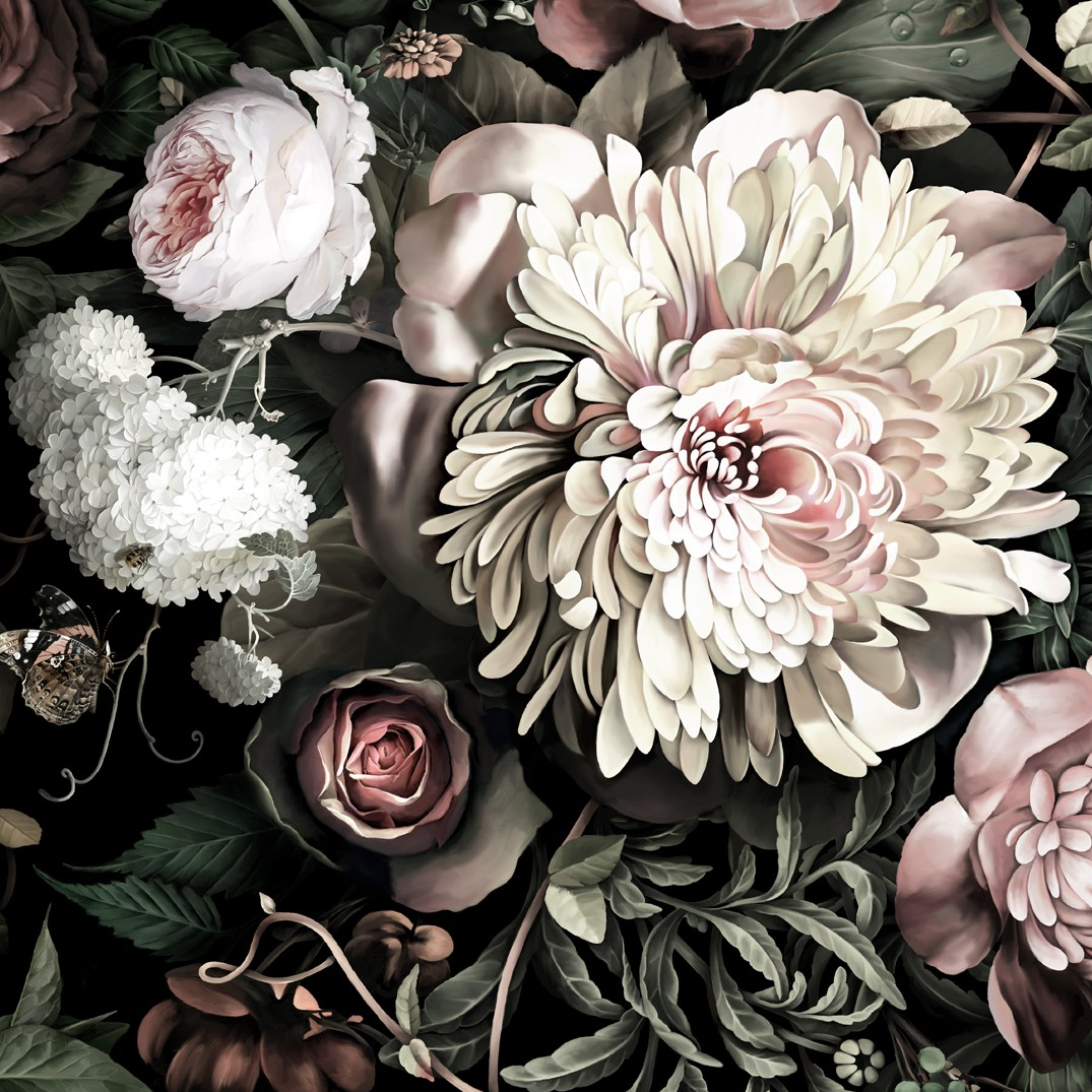 Free Download Saturated Sample Floral Wallpaper Samples By Ellie