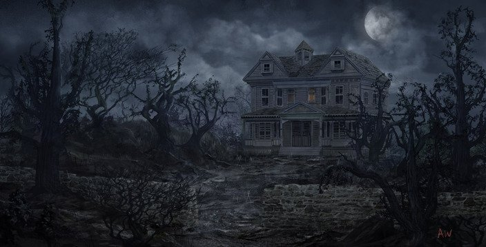 haunted house wallpaper with sound - photo #5
