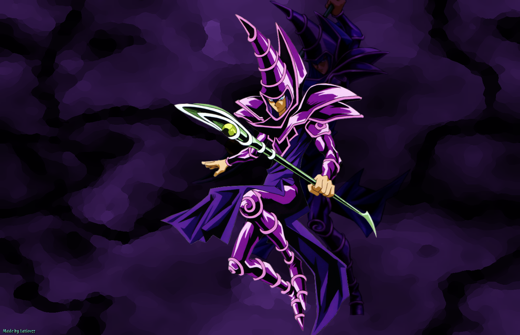 44 Yu Gi Oh Dark Magician Wallpaper On Wallpapersafari