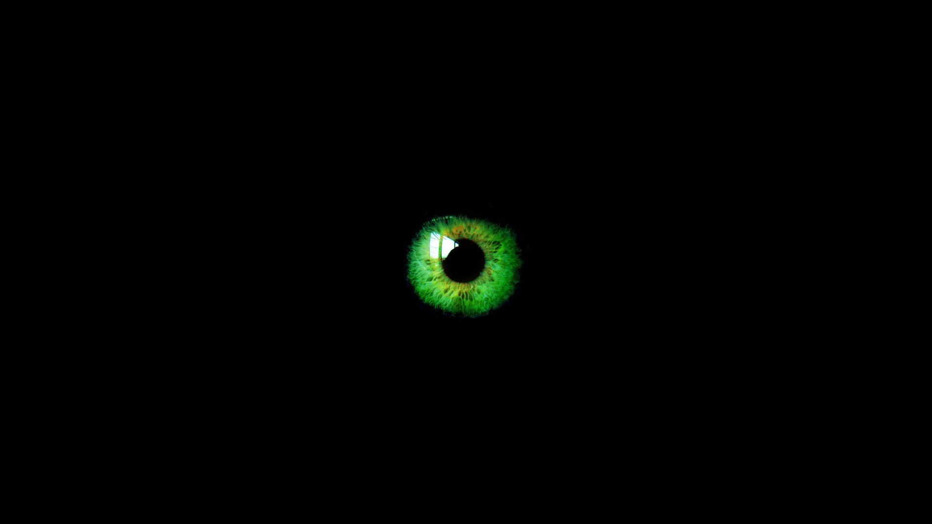 Green Abstract Wallpaper 1920x1080 Green Abstract Eyes Black 1920x1080