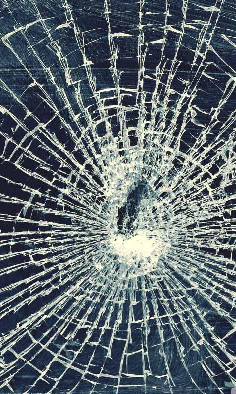 Realistic Broken Screen Wallpaper HD - WallpaperSafari