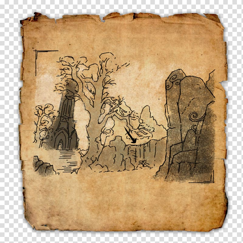 Treasure map The Elder Scrolls Online Tamriel Unlimited Location 800x800
