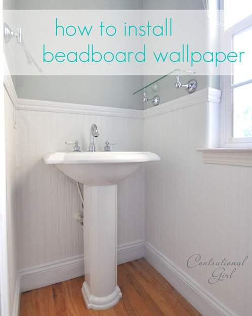 how to install beadboard wallpaper 498x625