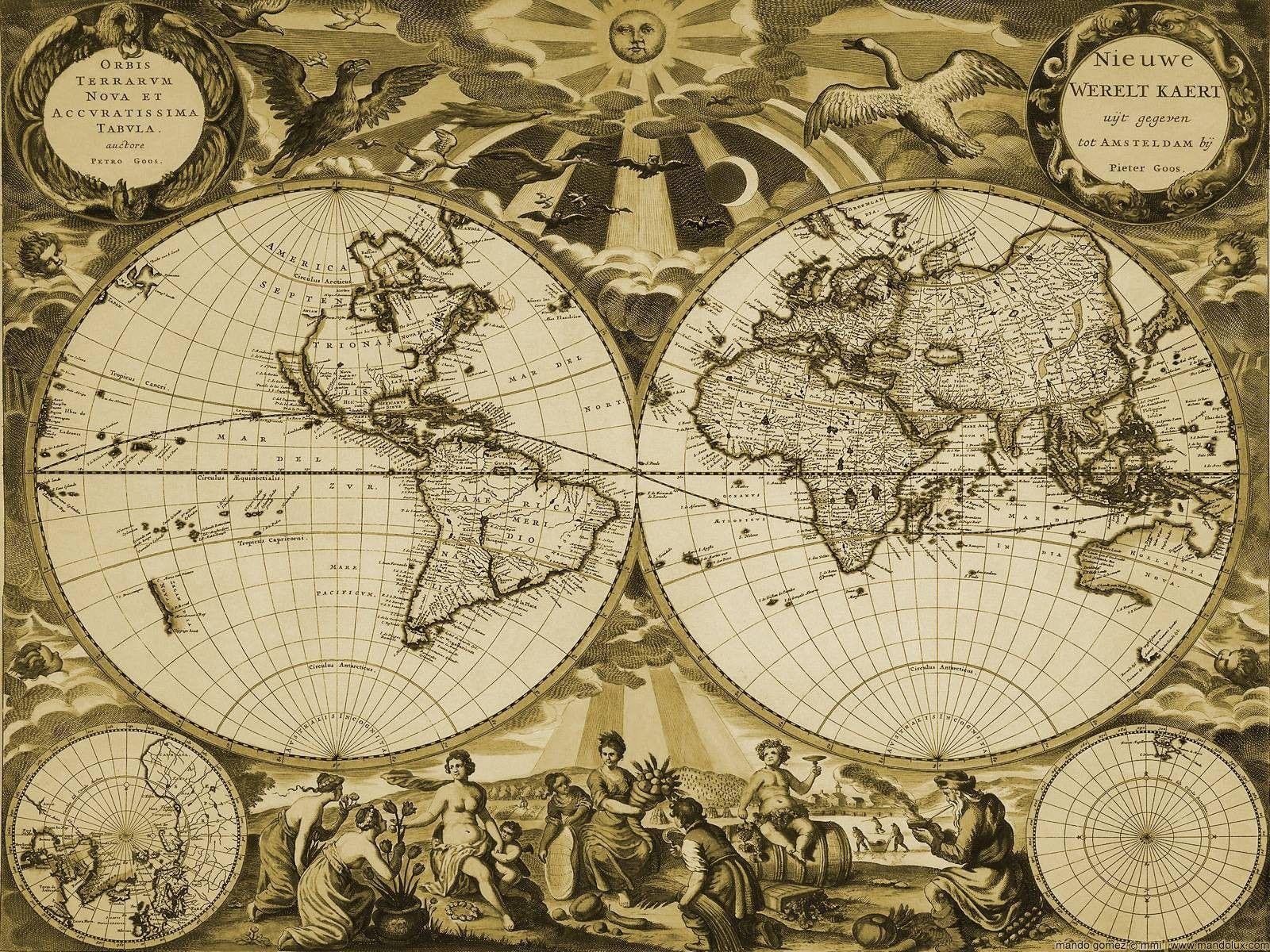 55 Old World Map Desktop Wallpapers   Download at WallpaperBro 1600x1200