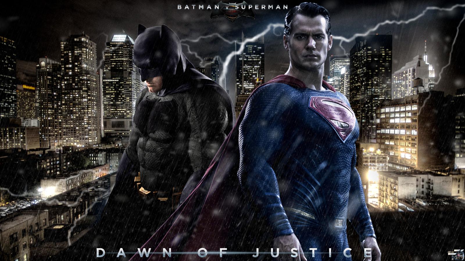 Batman VS Superman Dawn Of Justice HD Wallpaper 1600x900