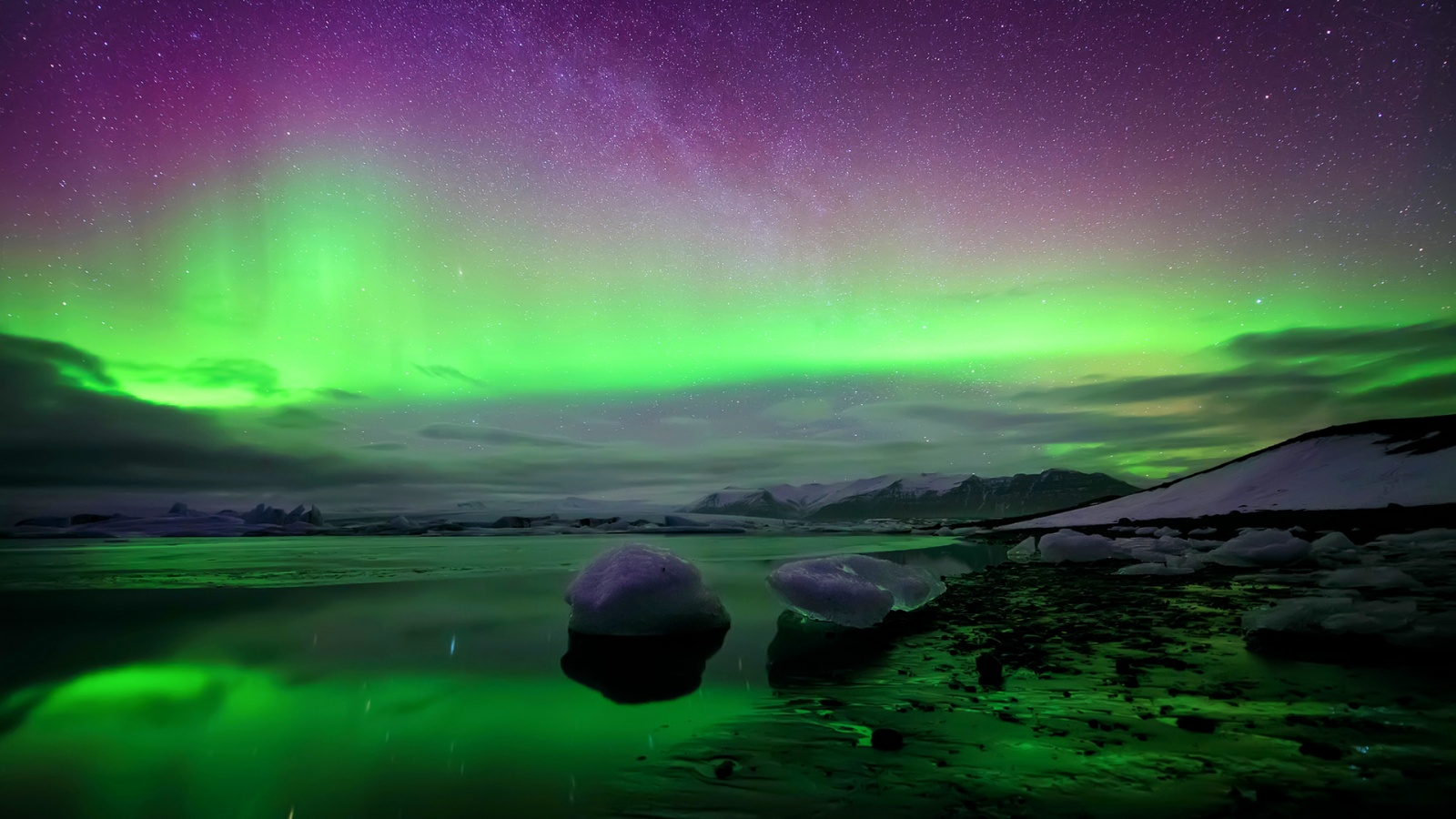 northern lights moving wallpaper
