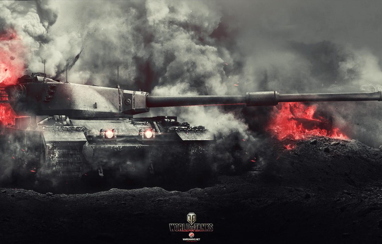 Conqueror World Of Tanks Game Wallpaper Hd Widescreen Mobile 1332x850