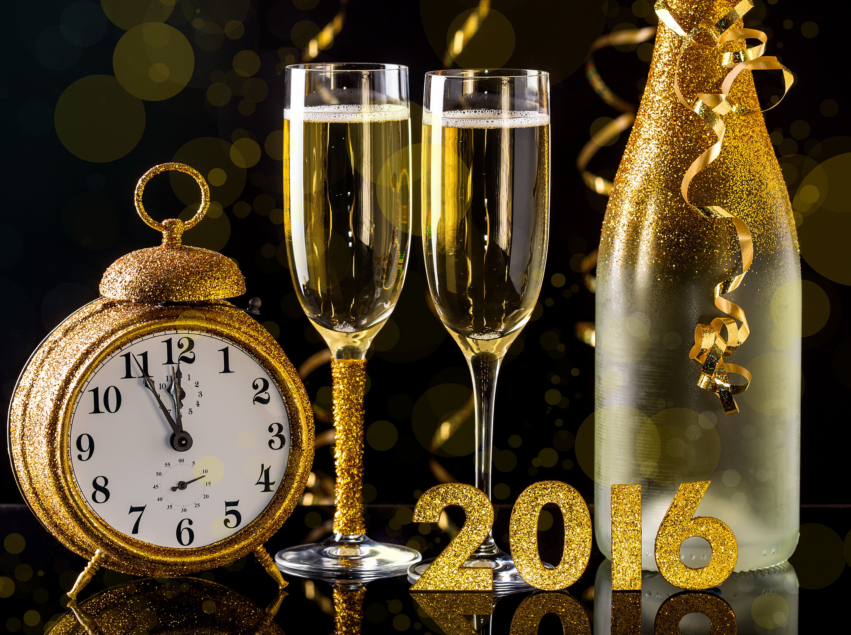 New Year 2016 HD Wallpapers Achtergronden 2870x2140