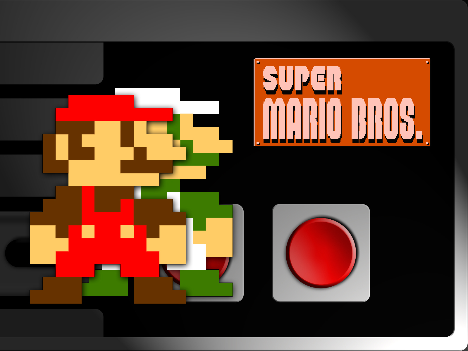 50 Super Mario Bros Nes Wallpaper On Wallpapersafari
