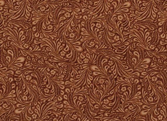 Leather Fabric Dusty Trails by Galaxy Western Fabric Cowboy 570x415