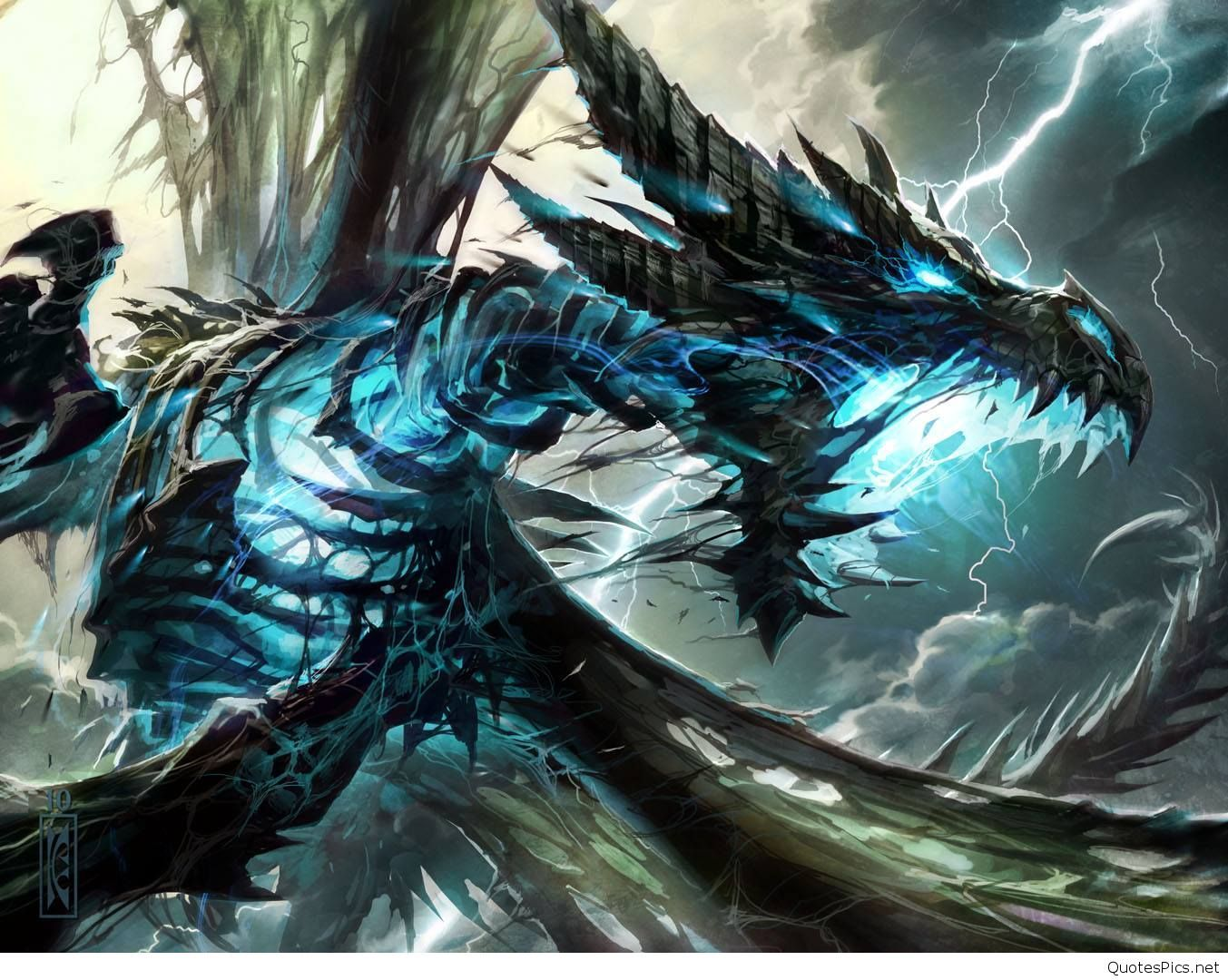 Thunder Dragon Wallpapers   Top Thunder Dragon Backgrounds 1353x1080