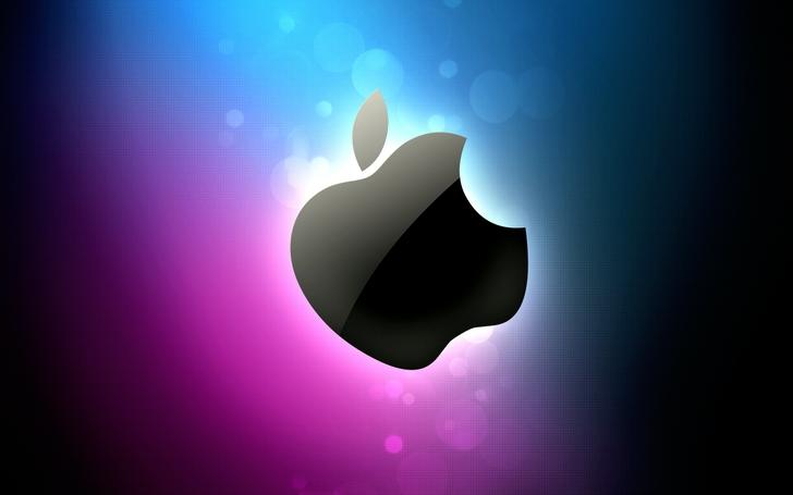 Apple Wallpaper Hot Pink Wallpaper Blue Pink Apple 728x455