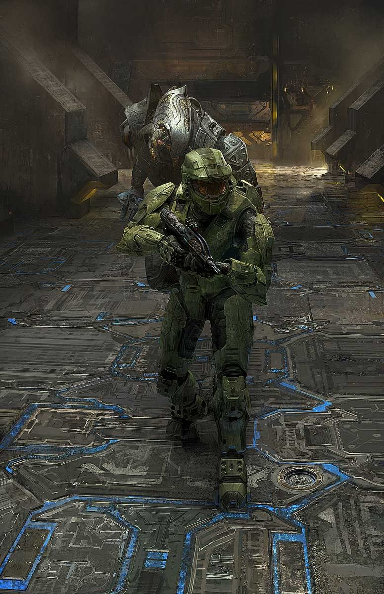 Free Download Master Chief And Arbiter Halo Photo 33159196