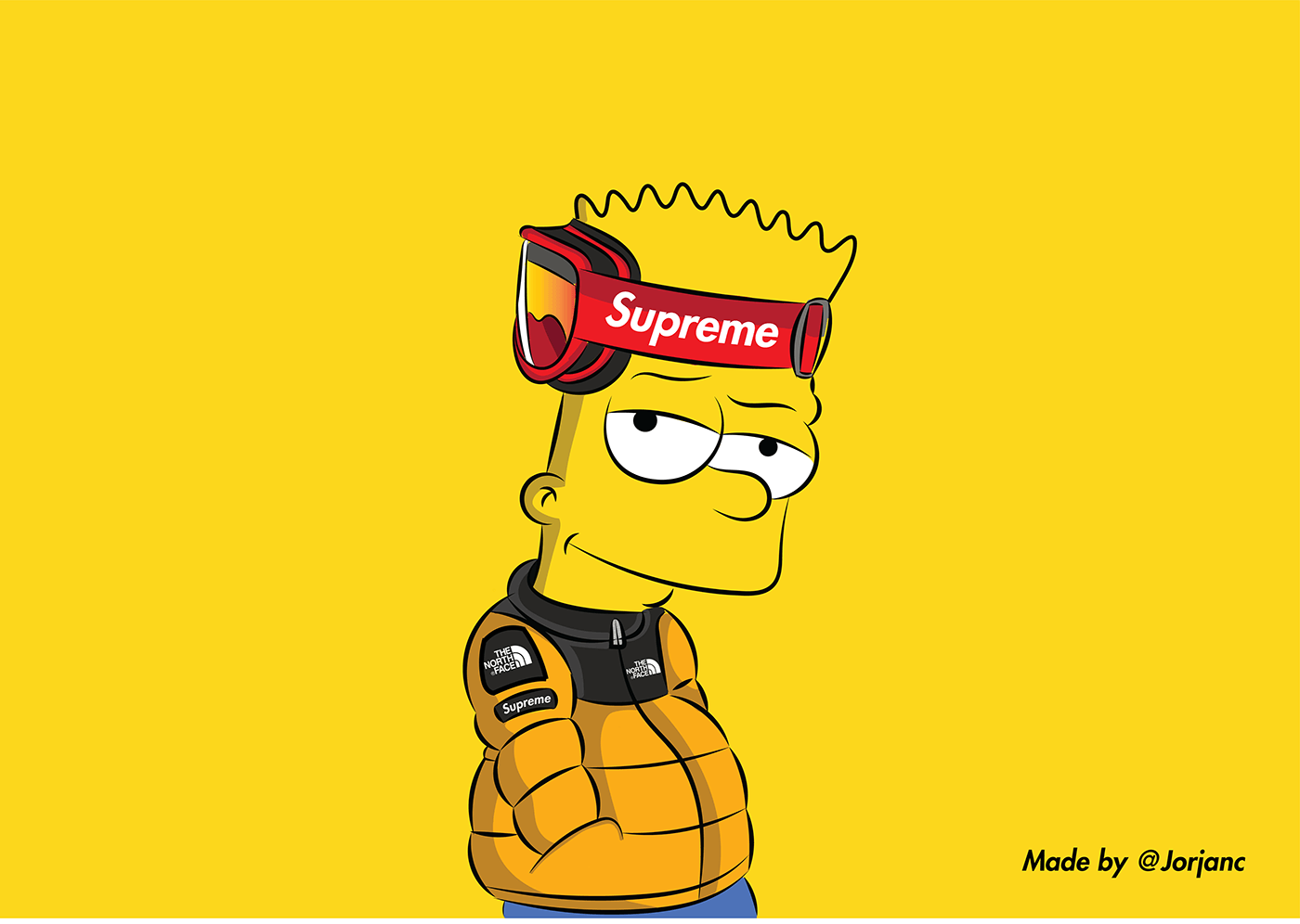 Free Download Supreme Bart Simpson Wallpapers Top Supreme Bart