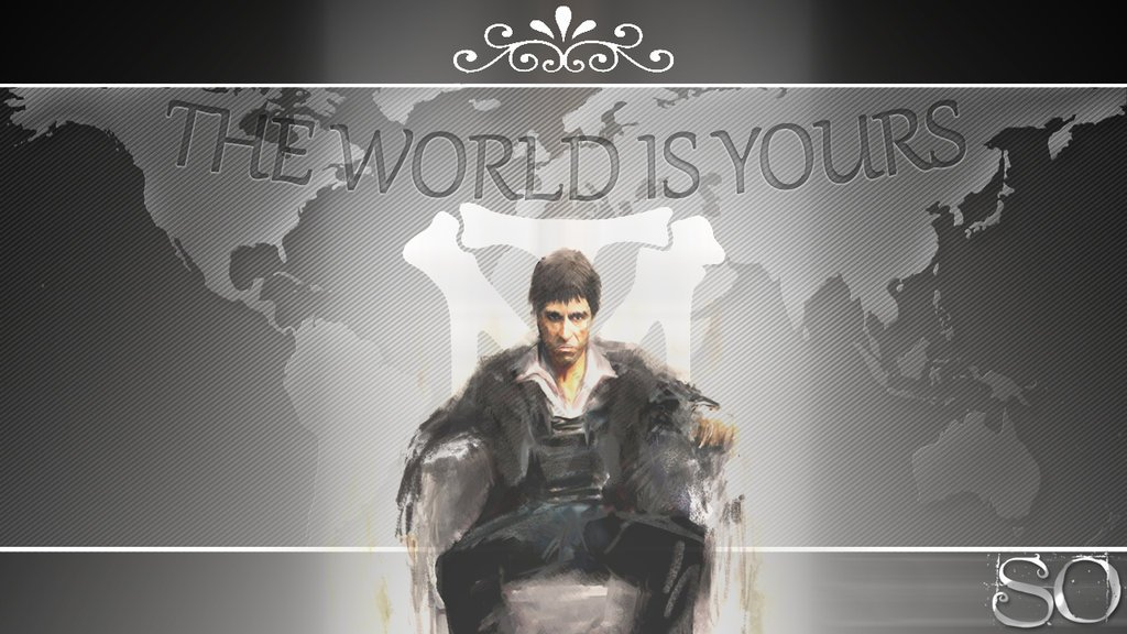 The world is yours wallpaper wallpapersafari - The world is yours wallpaper ...