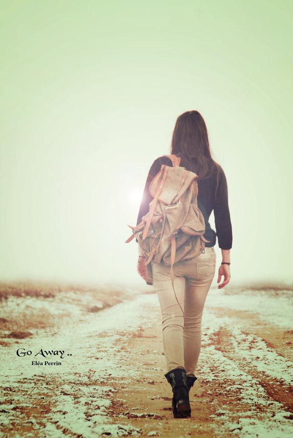 Go Away by EleaLaFleur 600x896