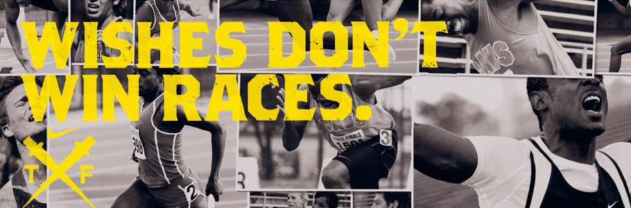 Nike Track And Field Wallpaper 910x300