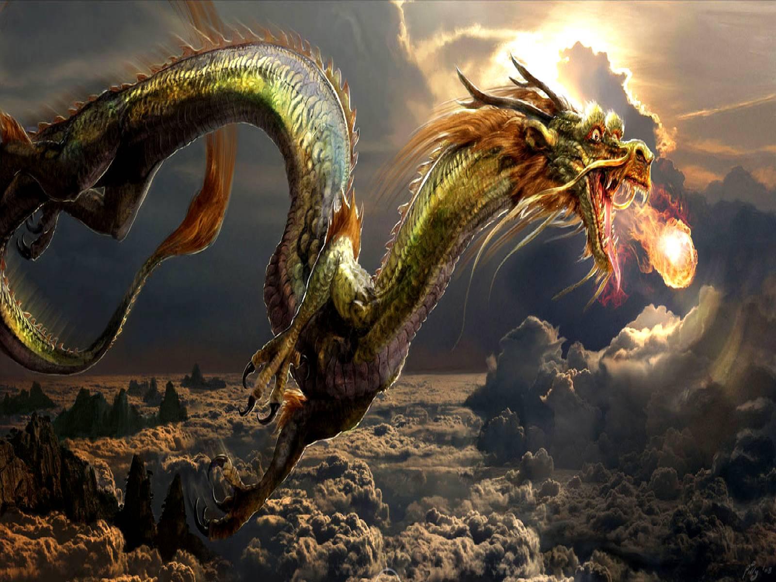 The Dragon Pearl   Dragons Wallpaper 1600x1200