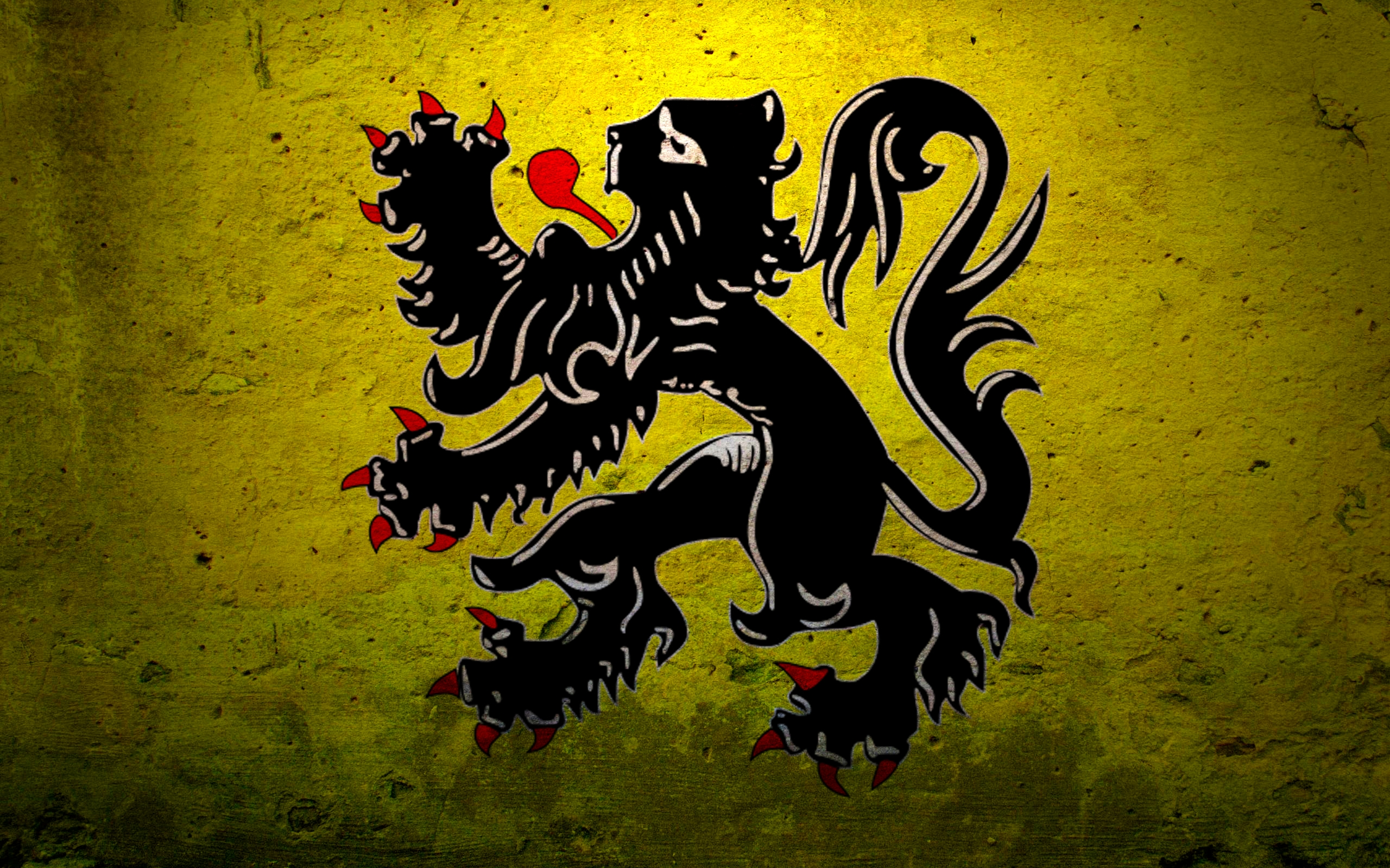 flags belgium lions flanders 2560x1600 wallpaper High Quality 2560x1600