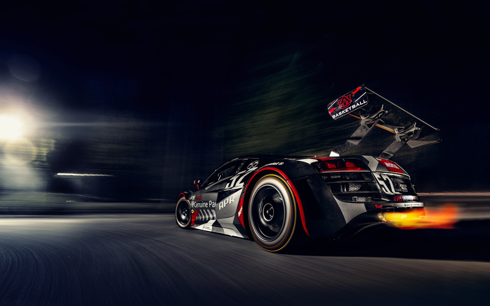 Apr Audi R8 Race Car HD Wallpapers 1920x1200