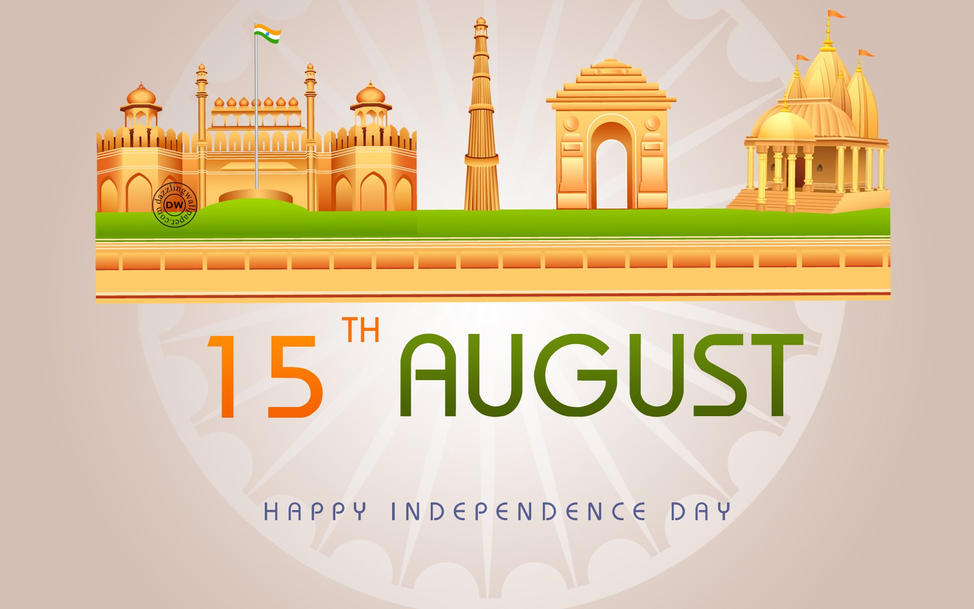 Independence Day August 15 Wallpaper 1920x1200