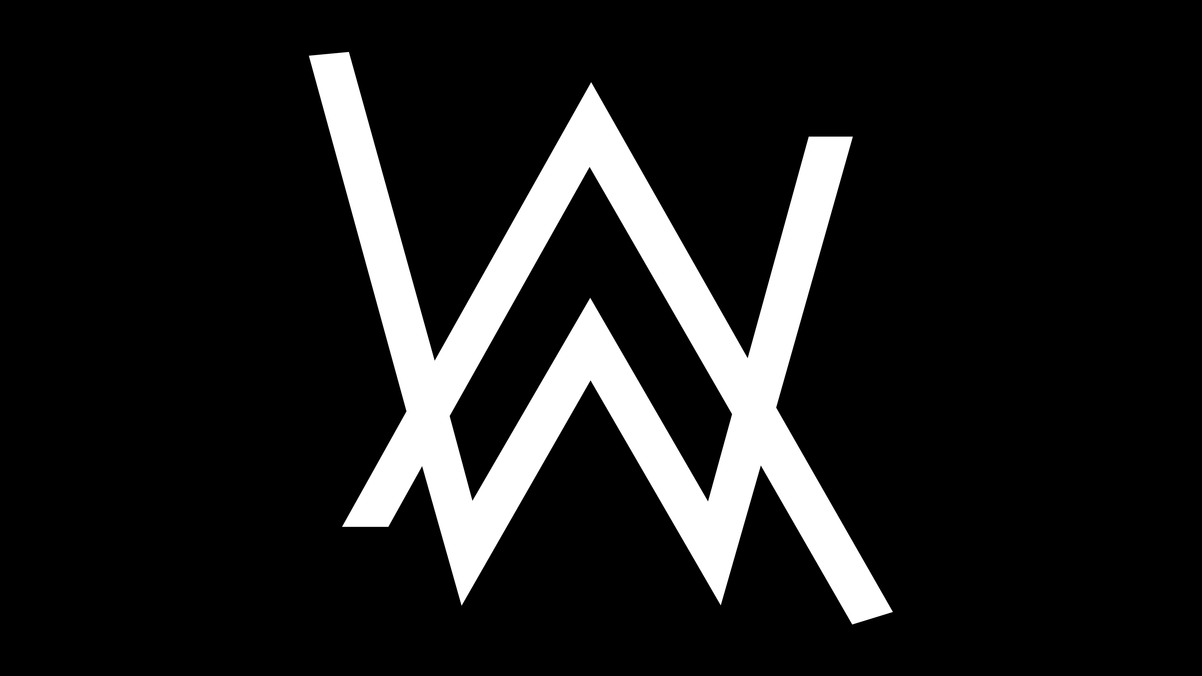 Alan Walker Logo 4K by IqbaLeAnggoro 3840x2160