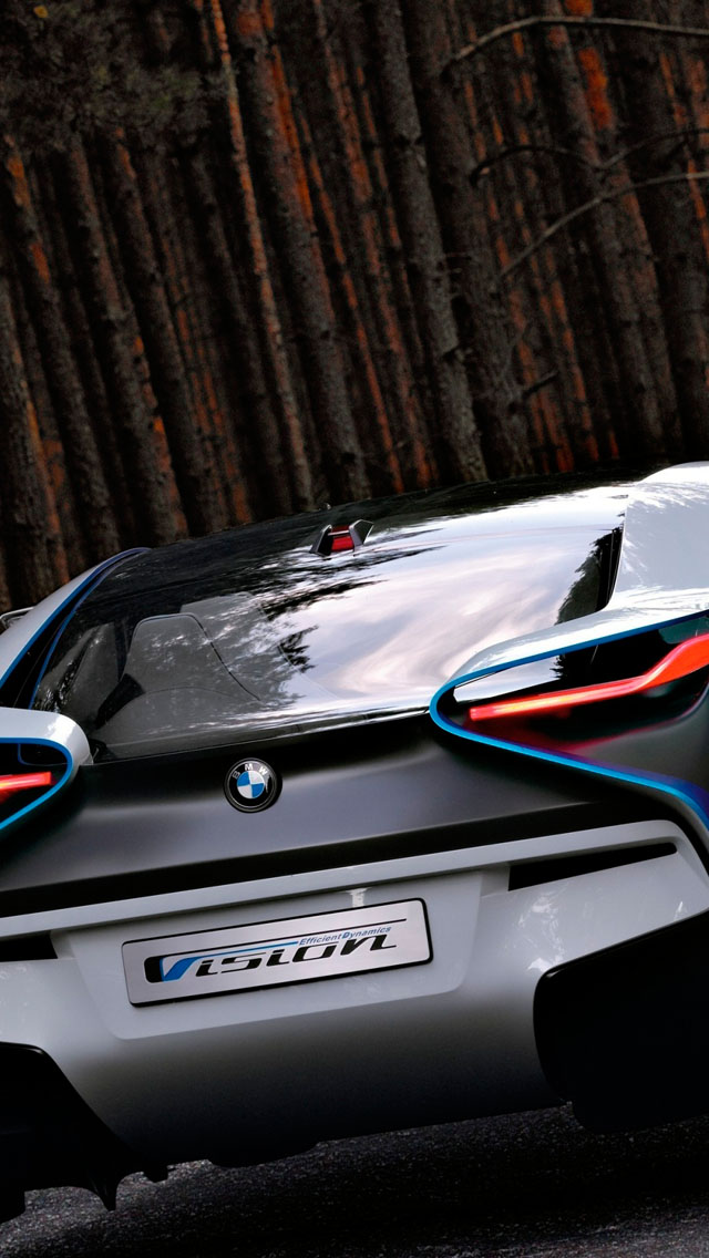 bmw concept car black iphone 5 5s 5c wallpaper Car Pictures 640x1136