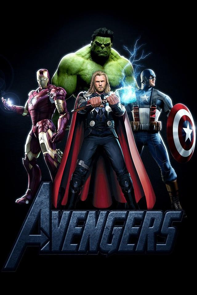Marvels Avengers iPhone Wallpaper Fan Art   Wallpapers   iPhone 640x960