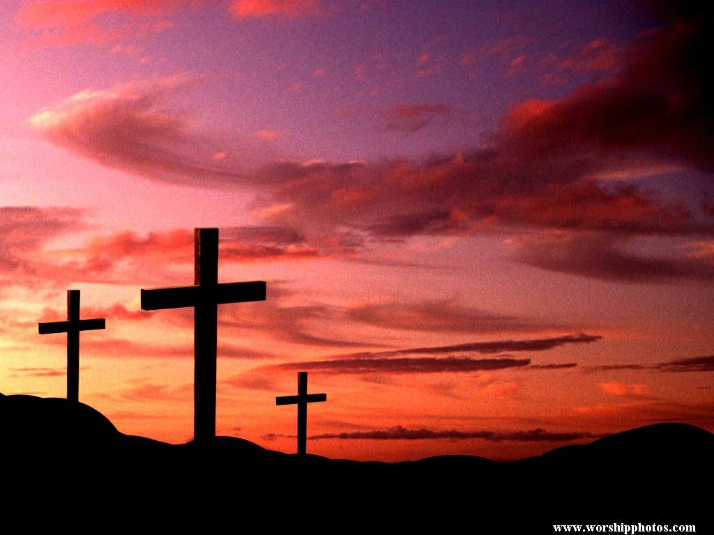 Cross Sunset Wallpaper   Christian Wallpapers and Backgrounds 1024x768