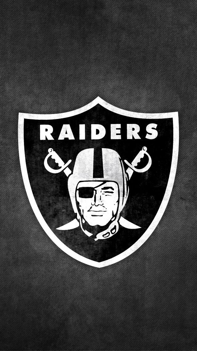 The Oakland Raiders iPhone 5 Wallpaper 640x1136 640x1136
