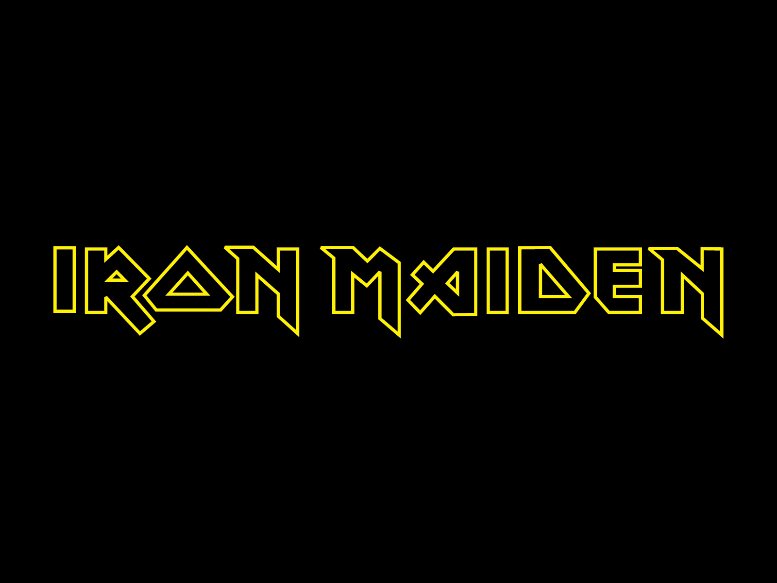 Iron Maiden band logo wallpapers Band logos   Rock band logos metal 1600x1200