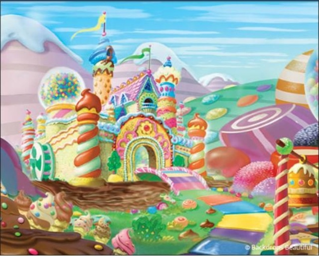 candyland wallpaper hd wallpapersafari