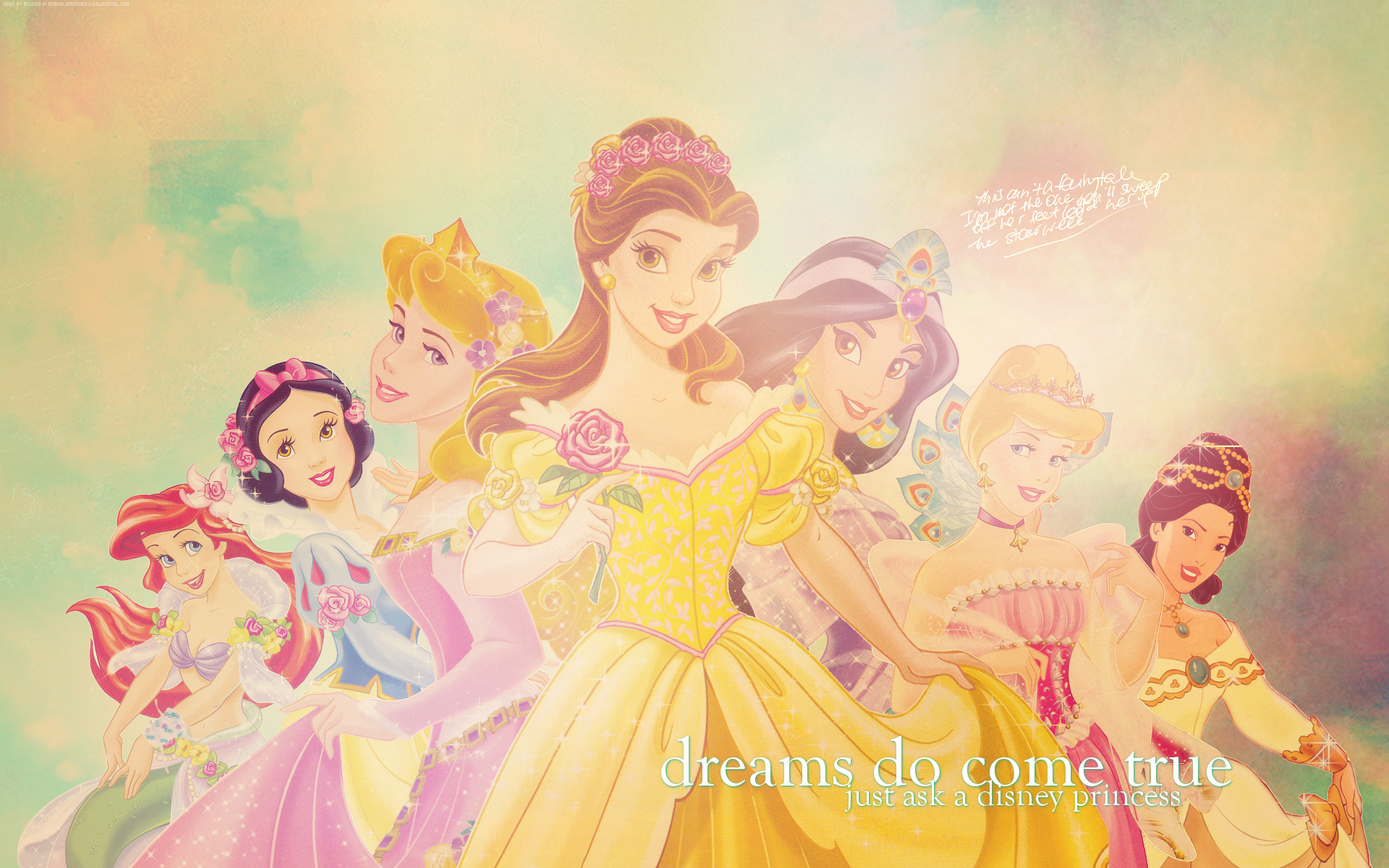 Disney Princesses   Disney Princess Wallpaper 7250269 1920x1200