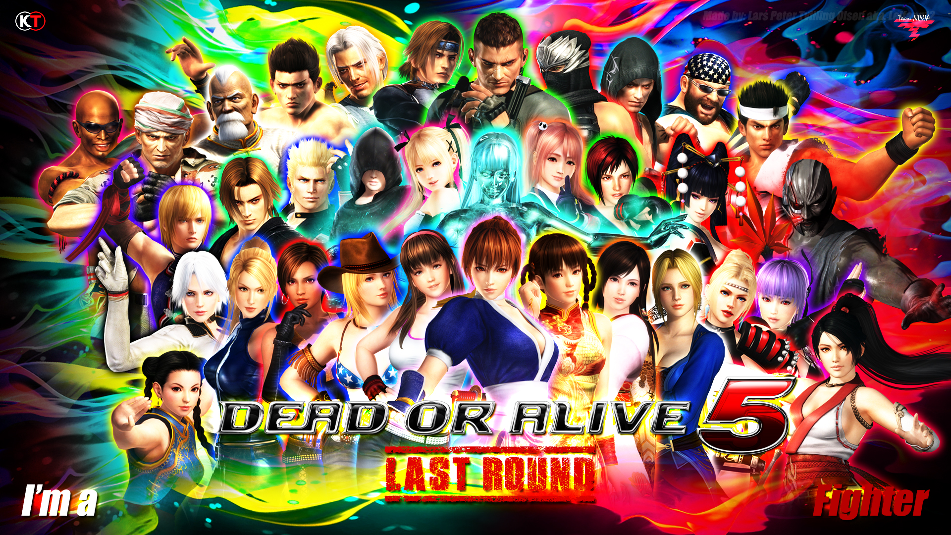 DEAD OR ALIVE 5   LAST ROUND   CHARACTER WALLPAPER by Leifang12 on 1920x1080