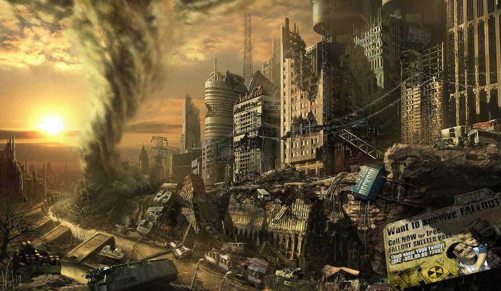 Fallout 3 concept art   Concept art Illustrations VideogamesCoolvibe 990x576