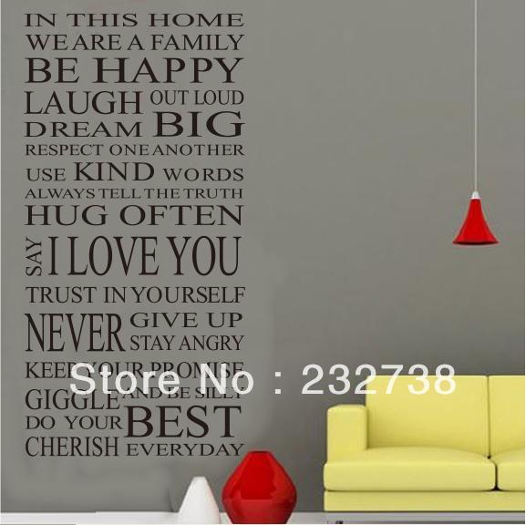 this Houese vinyl Wall Sticker 55 110cm bathroom wallpaper Decaljpg 577x576