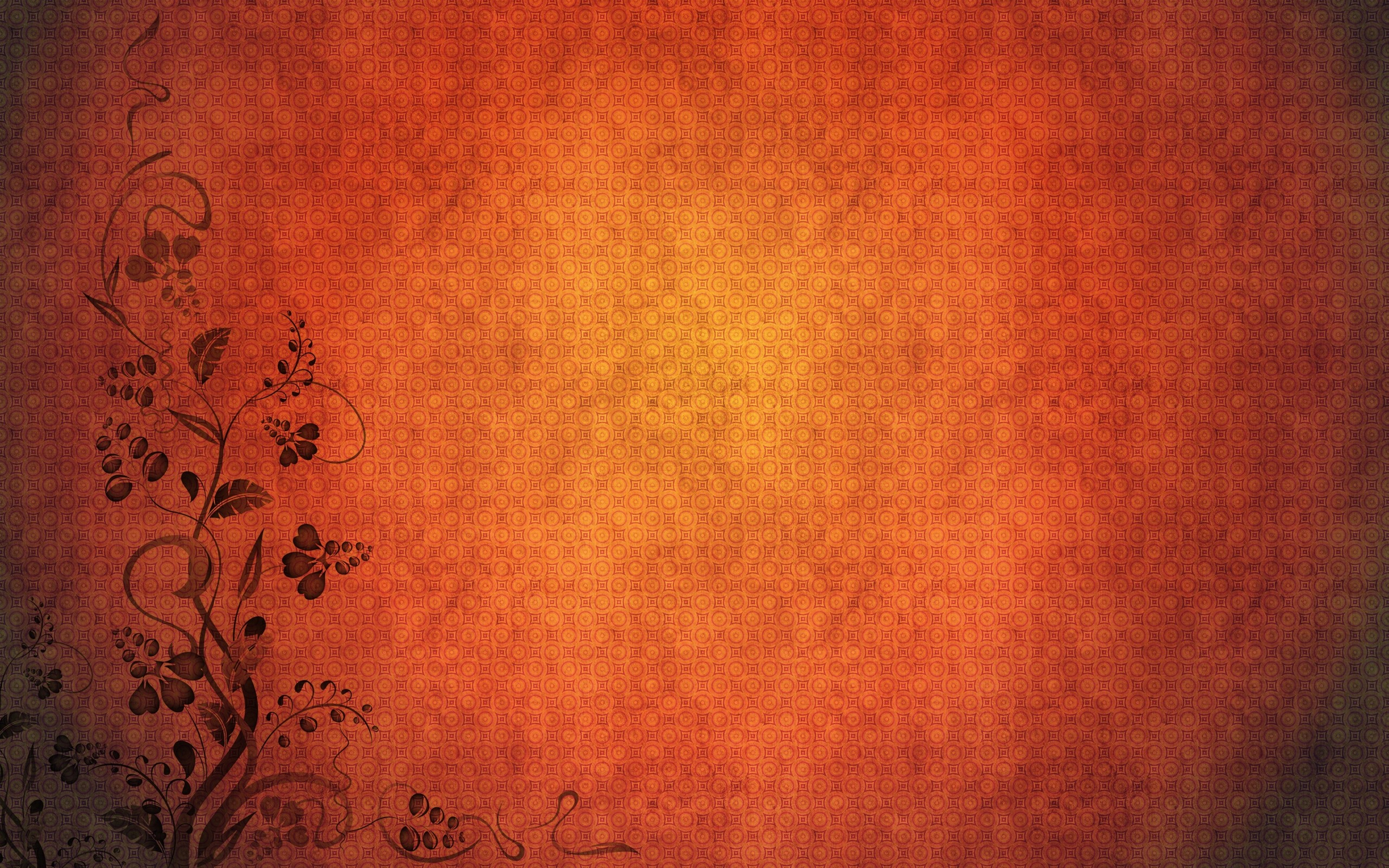 Minimalistic orange patterns textures simple background wallpaper 2560x1600
