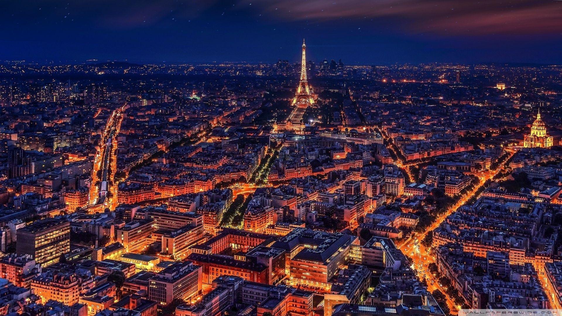 Paris at Night Wallpapers   Top Paris at Night Backgrounds 1920x1080