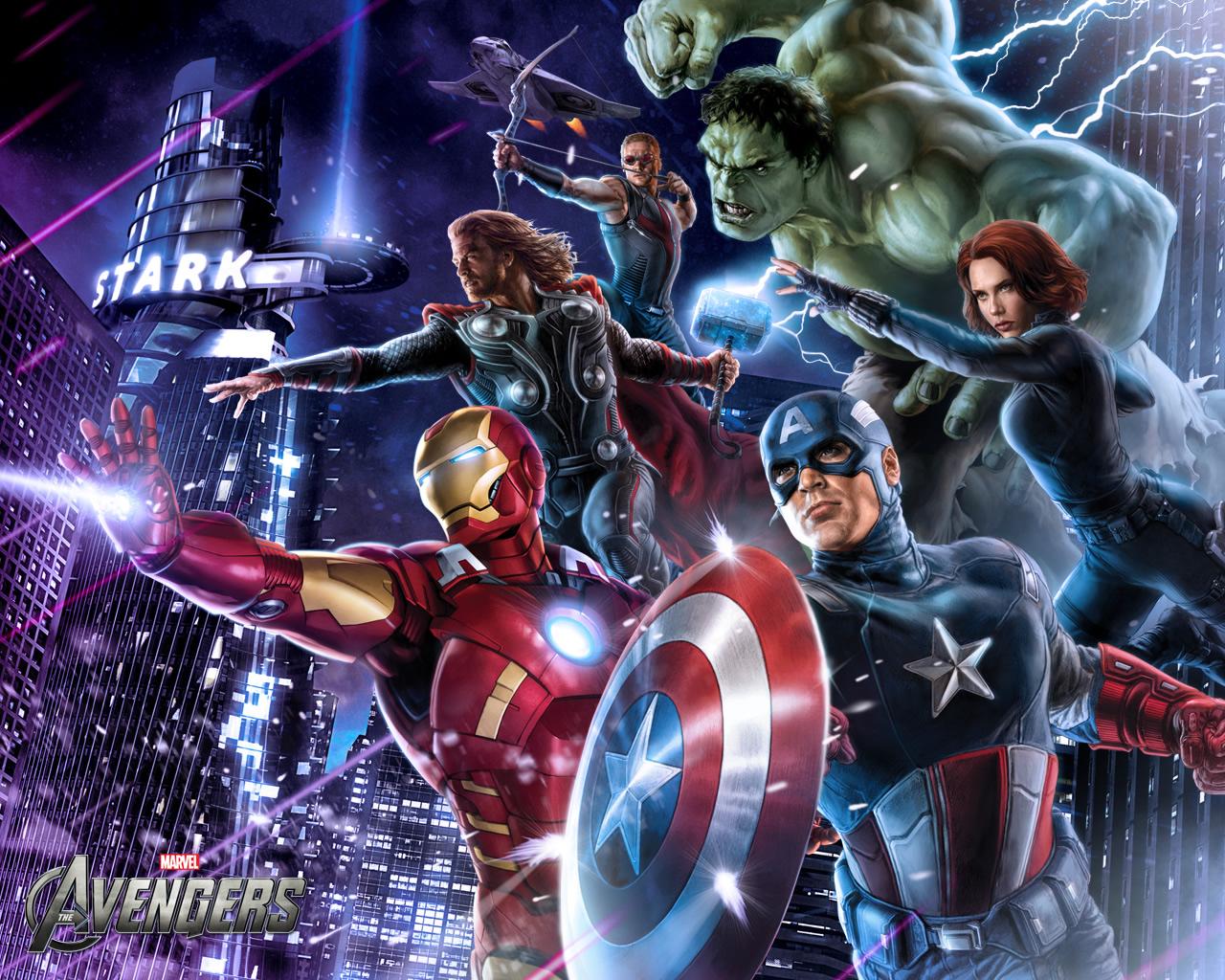 The Avengers Kickass Wallpapers Abduzeedo Design Inspiration 1280x1024